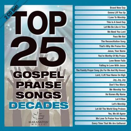 Picture of Top 25 gospel praise songs Decades