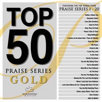 Picture of Top 50 Praise series Gold
