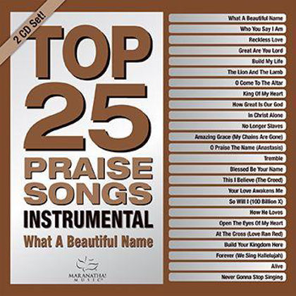 Picture of Top 25 Praise songs - Instrumental - Wha