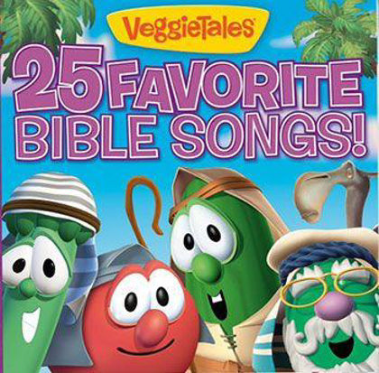 Picture of 25 favourite bible songs