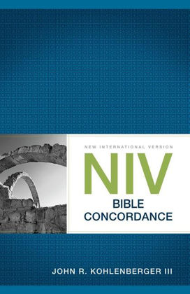 Picture of NIV Bible concordance