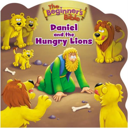 Picture of Daniel and the hungry lions (Beginners Bible)