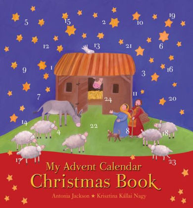 Picture of My advent calendar Christmas book
