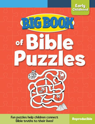 Picture of Big book of bible puzzles