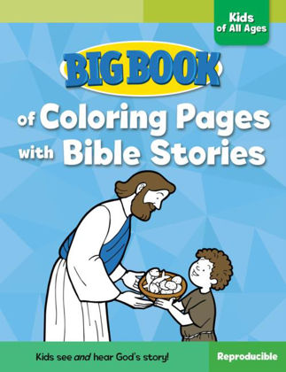 Picture of Big book of colouring pages with bible stories