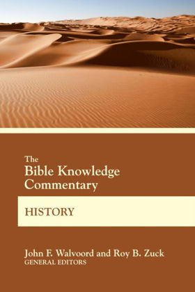 Picture of Bible knowledge commentary - History