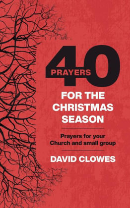 Picture of 40 prayers for the Christmas season