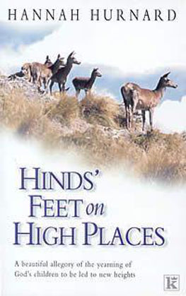 Picture of Hind's feet on high places