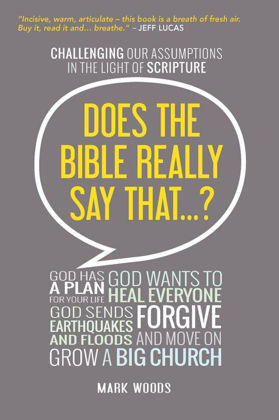 Picture of Does the bible really say that?
