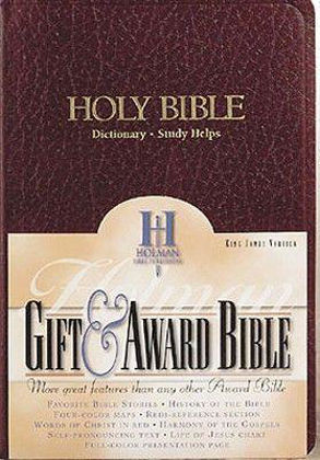 Picture of KJV Gift and award Burg Imitation Leather Red Letter