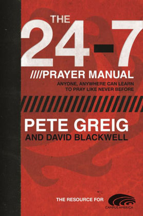 Picture of 24-7 prayer manual