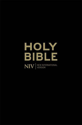 Picture of NIV Popular with Cross-references Black