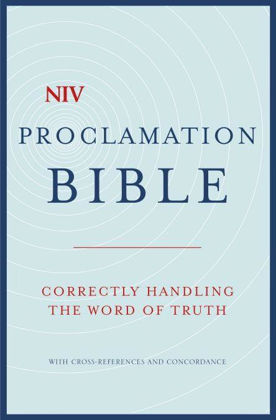 Picture of NIV Compact Proclamation Bible