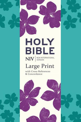 Picture of NIV Large Print Single column Deluxe Reference