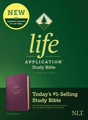 Picture of NLT Life application study bible (3rd edn)