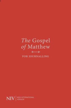 Picture of NIV Gospel of Matthew for Journalling