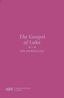 Picture of NIV Gospel of Luke for Journalling