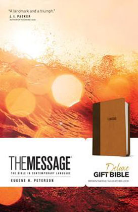 Picture of Message Deluxe gift bible