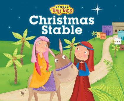 Picture of Christmas stable The