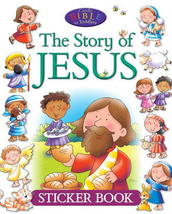Picture of CBT Story of Jesus sticker book