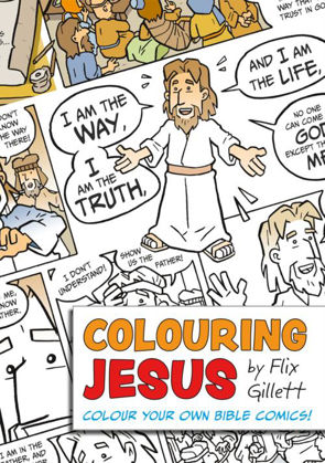 Picture of Colouring Jesus