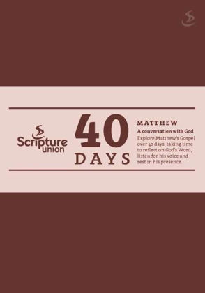 Picture of 40 days: Matthew