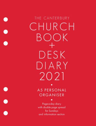 Picture of Church book and desk diary 2021 A5 Personal organiser