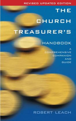 Picture of Church treasurer's handbook