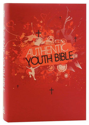 Picture of Authentic Youth bible (ERV) Red