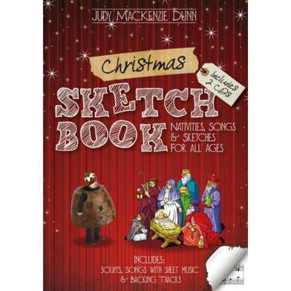 Picture of Christmas stetchbook Book+CD