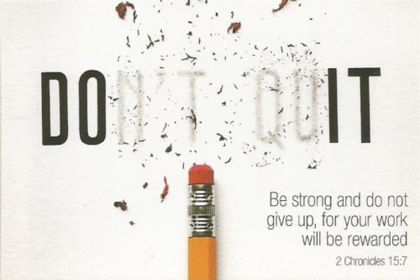 Picture of Don't quit
