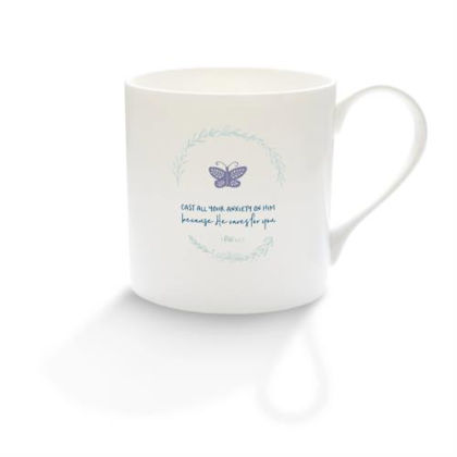 Picture of Cast all your anxiety mug (Calm range)