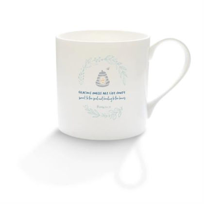 Picture of Gracious words honey mug (Calm range)