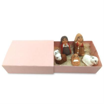 Picture of Mini Nativity in a Matchbox