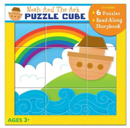 Picture of Noah's Ark puzzle story cube