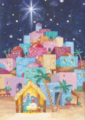 Picture of Bethlehem - advent calendar