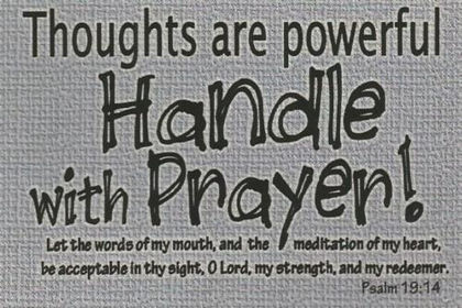 Picture of Handle with prayer