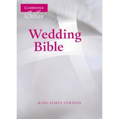 Picture of KJV White Wedding bible Fr Mor Lthr