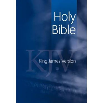 Picture of KJV Emerald Text Blue
