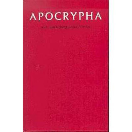 Picture of KJV Apocrypha Text Edn Red