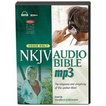 Picture of NKJV audio on mp3