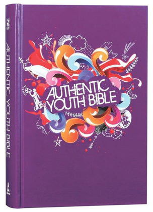 Picture of Authentic Youth bible (ERV) Purple