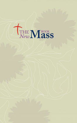 Picture of New Mass book The