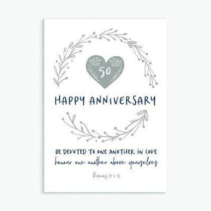 Picture of Happy anniversary (Calm range)