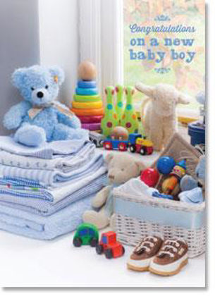 Picture of Blue nursery toys