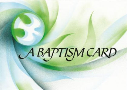 Picture of Baptism Certificate - Dove (x20) 306