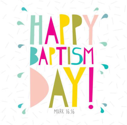 Picture of Happy baptism day
