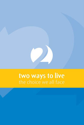 Picture of Two ways to live pamphlet