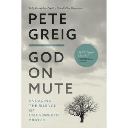 Picture of God on mute with devotional