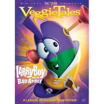 Picture of Larryboy and the bad apple (#27)